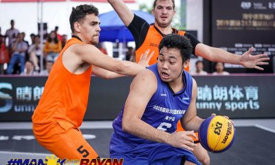 Tiebreaker Times Sosnovy Bor shackles Pasaol and Franklin as Balanga bows out of Haining Challenger 3x3 Basketball Chooks-to-Go Pilipinas 3x3 News  Travis Franklin Sosnovy Bor Chris De Chavez Alvin Pasaol 2019 Hongxiang Holdings Group Haining Challenger