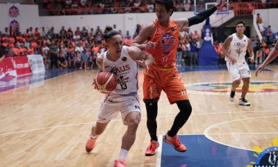 Tiebreaker Times Helterbrand puts up throwback line for Imus, Mark Cruz's triple-double lifts Pampanga past Gen San Basketball MPBL News  Pampanga Giant Green Lanterns Mikey Williams Mark Cruz Jayjay Helterbrand James Martinez Imus Bandera General Santos City Warriors Caloocan Supremos Almond Vosotros AJ Mandani 2019-2020 MPBL Lakan Cup