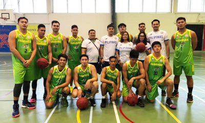 Tiebreaker Times NBL champs Parañaque Aces figure in friendly against VBA squad Basketball NBL News  Paranaque Aces 2019 NBL Season