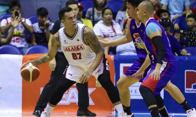 Tiebreaker Times Alaska not rushing things with Vic Manuel like what they did to Banchero Basketball News PBA  Vic Manuel PBA Season 44 Alaska Aces 2019 PBA Commissioners Cup