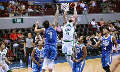 Tiebreaker Times Kyle Barone glad to end Columbian Dyip stint on right note Basketball News PBA  PBA Season 44 Kyle Barone Columbian Dyip 2019 PBA Commissioners Cup
