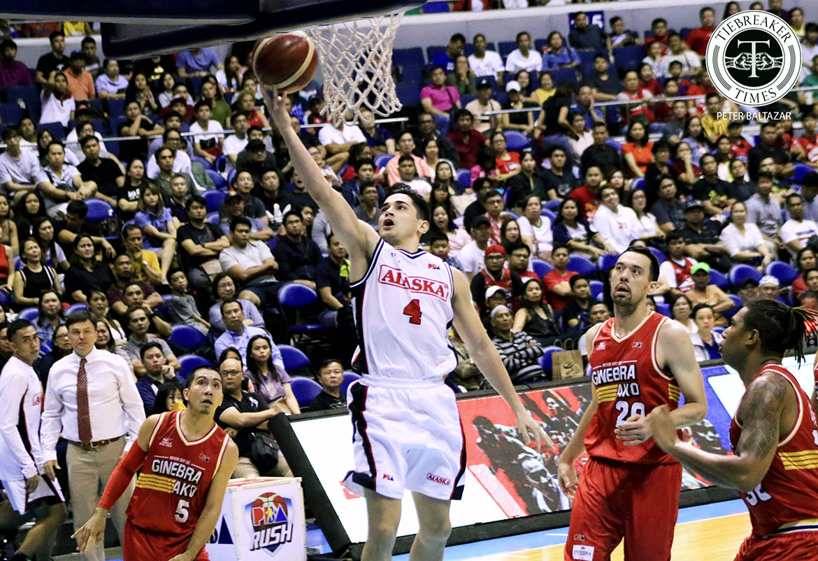Tiebreaker Times Though career game went for naught, Chris Banchero remains confident in Alaska's chances Basketball News PBA  PBA Season 44 Chris Banchero Alaska Aces 2019 PBA Commissioners Cup