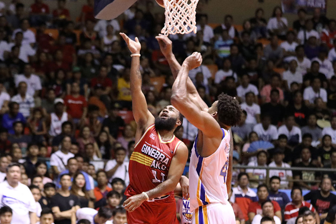 Tiebreaker Times Stanley Pringle overwhelmed after Ginebra debut: 'Wonderful experience' Basketball News PBA  Stanley Pringle PBA Season 44 Barangay Ginebra San Miguel 2019 PBA Commissioners Cup