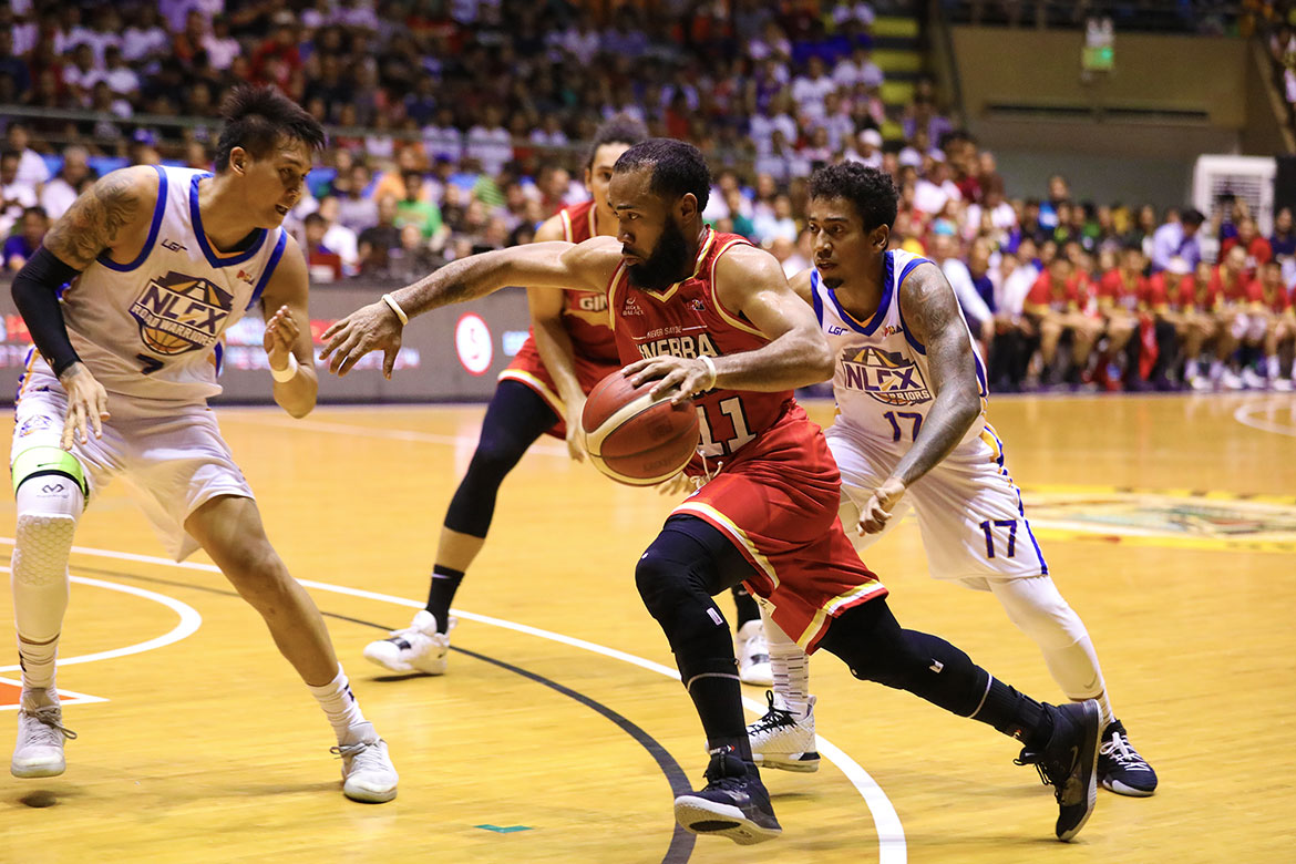 Tiebreaker Times Successful debut for Stanley Pringle as Ginebra whips NLEX Basketball News PBA  Yeng Guiao Tony Mitchell Tim Cone Stanley Pringle PBA Season 44 NLEX Road Warriors LA Tenorio Kenneth Ighalo Justin Brownlee JP Erram Greg Slaughter Barangay Ginebra San Miguel 2019 PBA Commissioners Cup