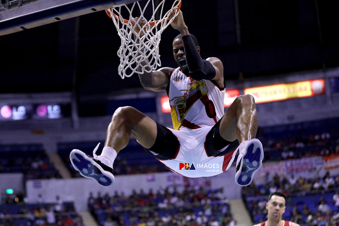 Tiebreaker Times Charles Rhodes says sorry to San Miguel after foul-plagued game: 'I let them down' Basketball News PBA  San Miguel Beermen PBA Season 44 Charles Rhodes 2019 PBA Commissioners Cup