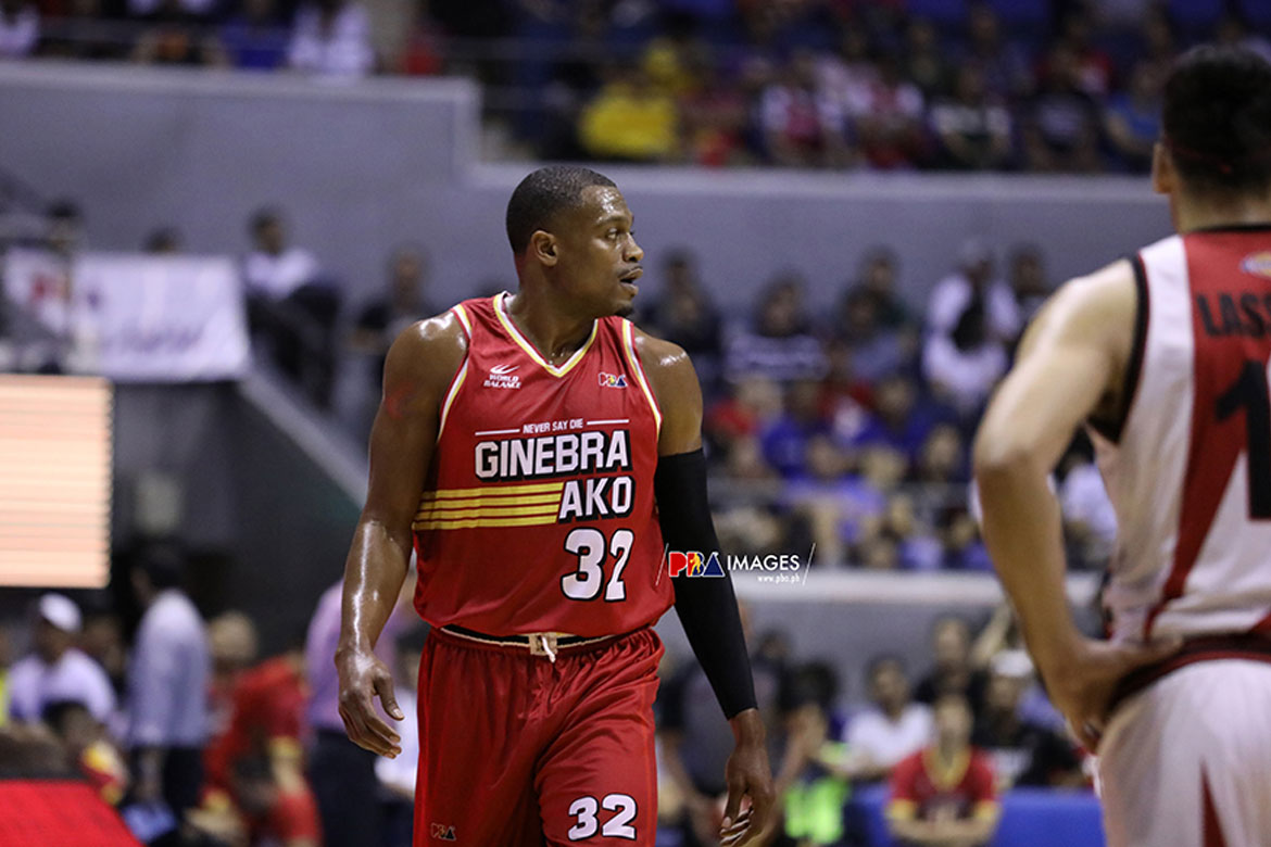 Tiebreaker Times Justin Brownlee honored to be part of Ginebra's 1,000th win Basketball News PBA  PBA Season 44 Justin Brownlee Barangay Ginebra San Miguel 2019 PBA Commissioners Cup