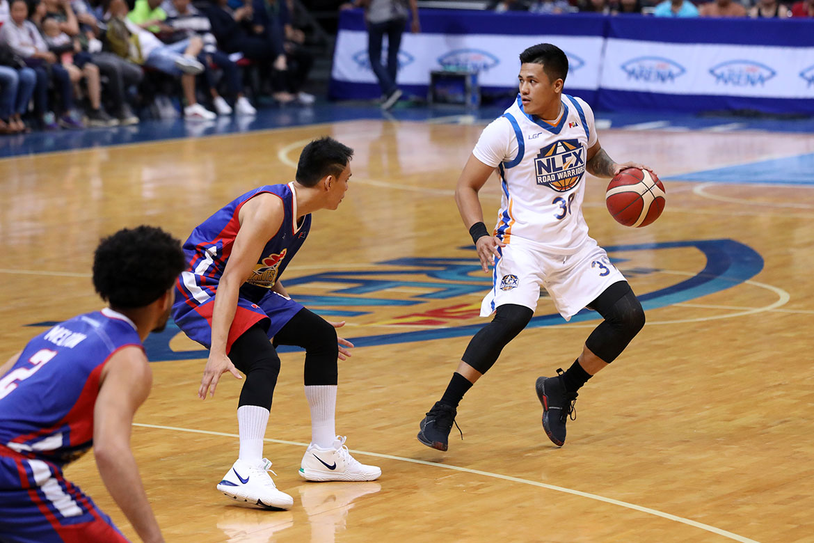 Tiebreaker Times Jericho Cruz simply glad to be back on the court Basketball News PBA  PBA Season 44 NLEX Road Warriors Jericho Cruz 2019 PBA Commissioners Cup