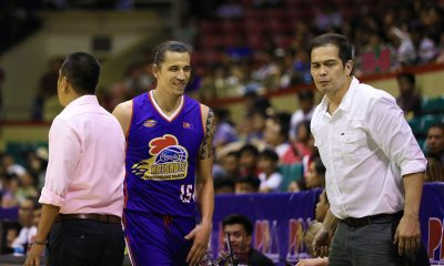 Tiebreaker Times Marc Pingris takes it slowly as he looks to regain old form Basketball News PBA  PBA Season 44 Marc Pingris Magnolia Hotshots 2019 PBA Commissioners Cup