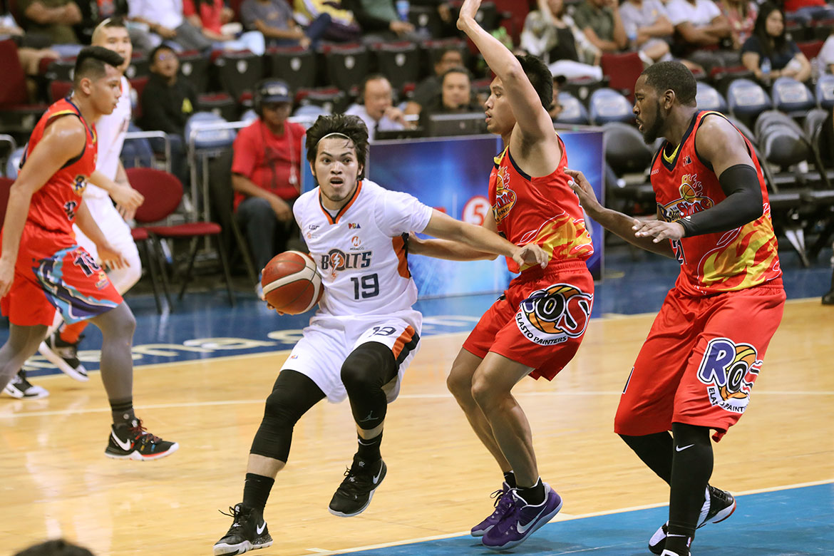 Tiebreaker Times Bong Quinto out to prove worth following Jared Dillinger's departure Basketball News PBA  PBA Season 44 Norman Black Meralco Bolts Bong Quinto 2019 PBA Commissioners Cup