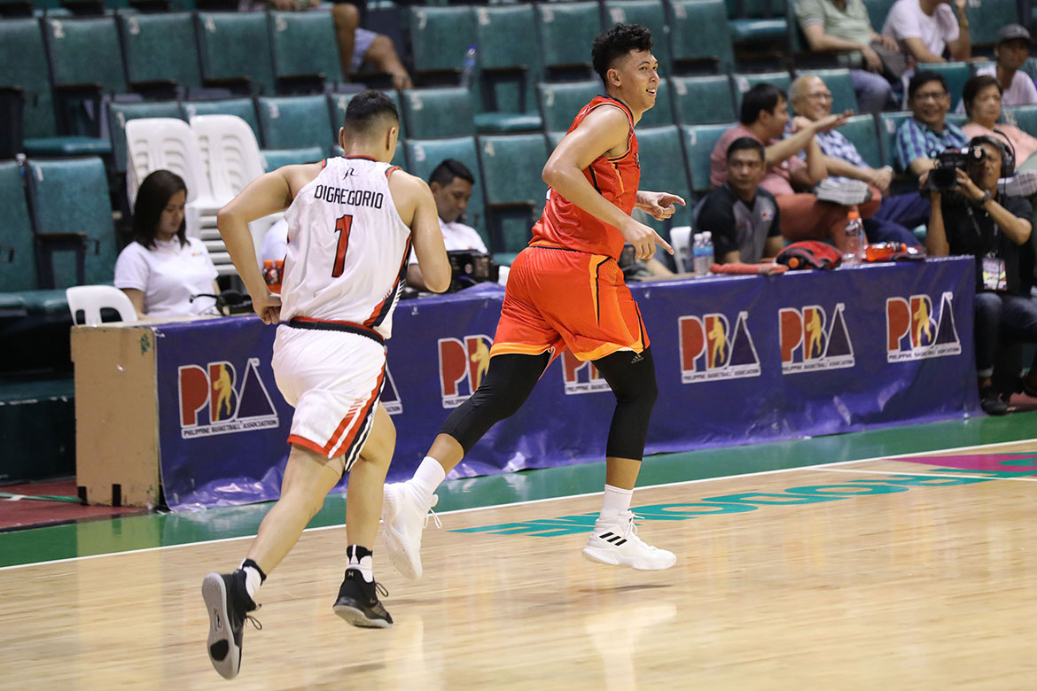Tiebreaker Times Kevin Ferrer, Jervy Cruz grateful to play long minutes anew under Pido Jarencio Basketball News PBA  PBA Season 44 Northport Batang Pier Kevin Ferrer Jervy Cruz 2019 PBA Commissioners Cup