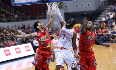 Tiebreaker Times Mo Tautuaa says career-high just an afterthought to NorthPort's big win Basketball News PBA  Pido Jarencio PBA Season 44 Northport Batang Pier Mo Tautuaa 2019 PBA Commissioners Cup