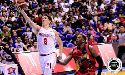 Tiebreaker Times Robert Bolick on perfect blend with Ibeh: 'Sanay ako sa San Beda, may import' Basketball News PBA  Robert Bolick PBA Season 44 Northport Batang Pier 2019 PBA Commissioners Cup