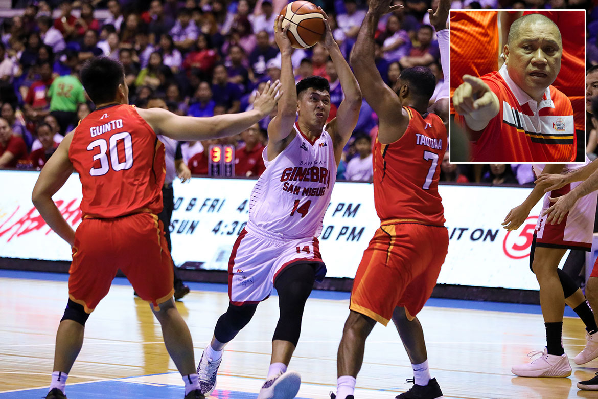 Tiebreaker Times Kevin Ferrer excited to reunite with Pido Jarencio in NorthPort Basketball News PBA  PBA Season 44 Northport Batang Pier Keivn Ferrer Barangay Ginebra San Miguel 2019 PBA Commissioners Cup