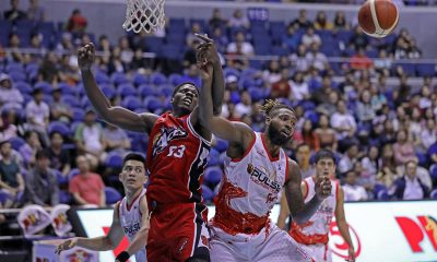 Tiebreaker Times Nino Johnson still adjusting to weather, food as Alaska debut goes sour Basketball News PBA  PBA Season 44 Nino Johnson Alex Compton Alaska Aces 2019 PBA Commissioners Cup