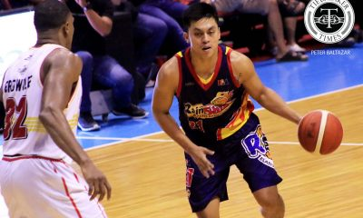 Tiebreaker Times Rey Nambatac steps up for Rain or Shine's young guns, explodes for career-high Basketball News PBA  Tim Cone Rey Nambatac Rain or Shine Elasto Painters PBA Season 44 Caloy Garcia 2019 PBA Commissioners Cup