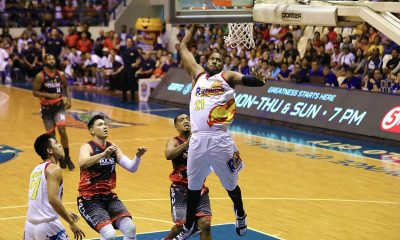Tiebreaker Times Bowles, Nambatac link up late as Rain or Shine escapes Phoenix Basketball News PBA  Topex Robinson Richard Howell Rey Nambatac Rain or Shine Elasto Painters Phoenix Fuel Masters PBA Season 44 Matthew Wright LA Revilla Javee Mocon James Yap Denzel Bowles Caloy Garcia 2019 PBA Commissioners Cup