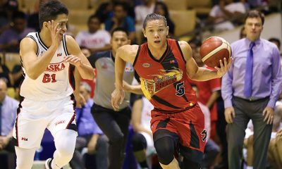 Tiebreaker Times San Miguel now in playoff mode, says Alex Cabagnot Basketball News PBA  San Miguel Beermen PBA Season 44 Alex Cabagnot 2019 PBA Commissioners Cup