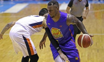 Tiebreaker Times Terrence Jones makes sure TNT won't miss Jayson Castro much Basketball News PBA  TNT Katropa Terrence Jones PBA Season 44 2019 PBA Commissioners Cup