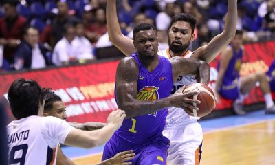 Tiebreaker Times Terrence Jones drops 49, powers Castro-less TNT past Meralco Basketball News PBA  TNT Katropa Terrence Jones Ryan Reyes PBA Season 44 Norman Black Meralco Bolts Jimmie Taylor Don Trollano Chris Newsome Bong Ravena 2019 PBA Commissioners Cup