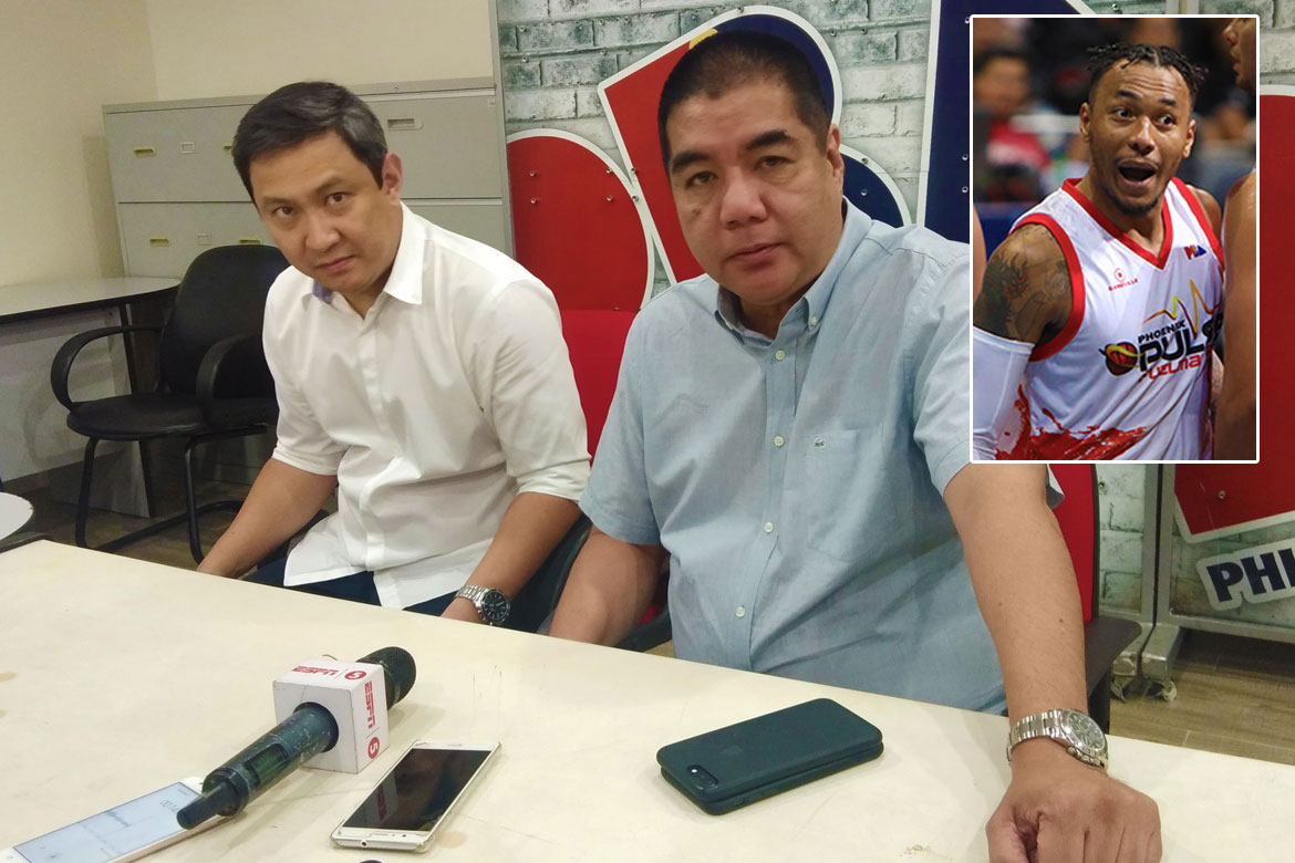 Tiebreaker Times Willie Marcial on suspending Calvin Abueva indefinitely: 'We need to instill discipline in the league' Uncategorized  Willie Marcial Phoenix Fuel Masters PBA Season 44 Calvin Abueva 2019 PBA Commissioners Cup