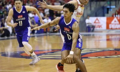 Tiebreaker Times Thirdy Ravena hopes Ateneo Blue Eagles improve more in final D-League days ADMU Basketball News PBA D-League  Thirdy Ravena Ateneo-Cignal Blue Eagles 2019 PBA D-League Season