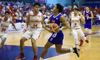 Tiebreaker Times Ravena, Cignal-Ateneo run roughshod on Valencia-Baste to advance to D-League Finals ADMU Basketball News PBA D-League SSC-R  Thirdy Ravena Sandy Arespacochaga RK Ilagan JM Calma Isaac Go Egay Macaraya City of Valencia Bukidnon-San Sebastian Golden Harvest BJ Andrade Ateneo-Cignal Blue Eagles Angelo Kouame Alvin Capobres 2019 PBA D-League Season