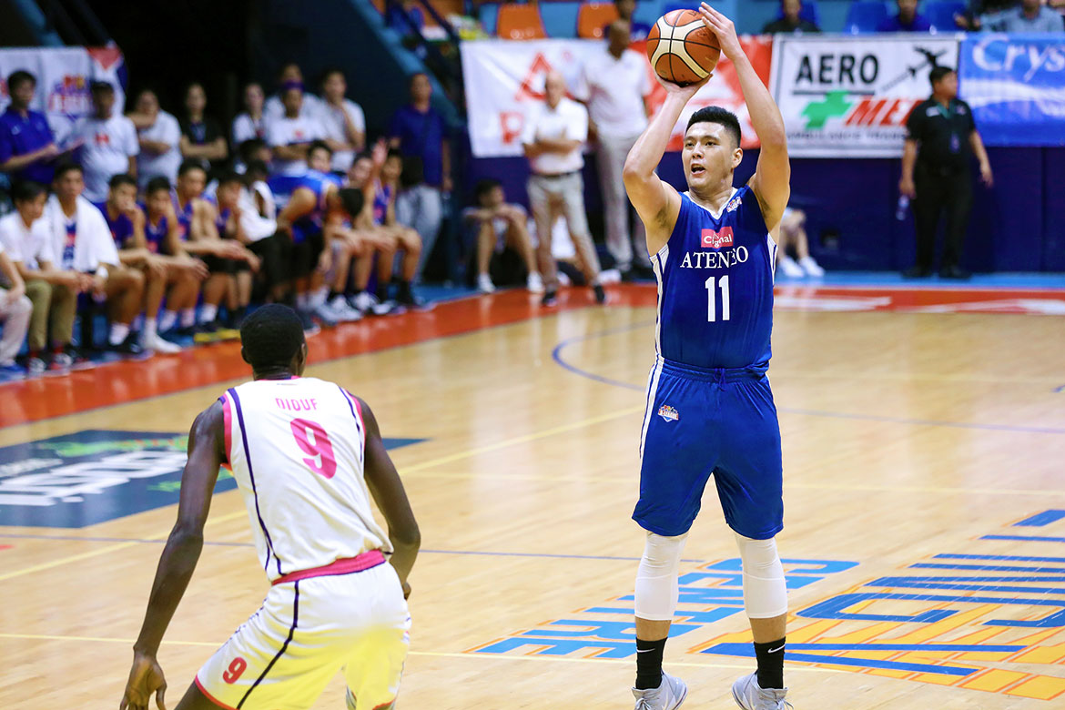 Tiebreaker Times Cignal-Ateneo scores most lopsided D-League Finals win with CEU rout ADMU Basketball News PBA D-League  Thirdy Ravena Tab Baldwin SJ Belangel Rich Guinitaran Maodo Malick Diouf Jerome Santos Isaac Go Derrick Pumaren 2019 PBA D-League Season