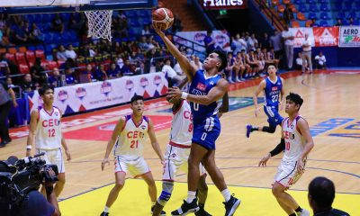 Tiebreaker Times Thirdy Ravena on facing 8-man CEU: 'It's more challenging' ADMU News PBA D-League  Thirdy Ravena Ateneo-Cignal Blue Eagles 2019 PBA D-League Season
