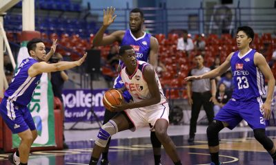 Tiebreaker Times Ange Kouame turns up aggression with 9 blocks after 'silent' Game Two ADMU Basketball News PBA D-League  Sandy Arespacochaga Ateneo-Cignal Blue Eagles Angelo Kouame 2019 pba d-laegue season