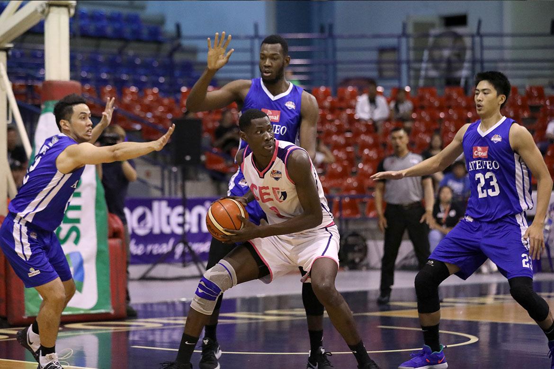 2019-pba-dleague-finals-game-3-cignal-admu-def-ceu-angelo-kouame-vs-malick-diouf Mac Cardona was more than just a scorer, says Derrick Pumaren Basketball DLSU News  - philippine sports news