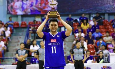 Tiebreaker Times Isaac Go hailed as PBA D-League MVP Basketball News PBA D-League  Isaac Go Ateneo-Cignal Blue Eagles 2019 PBA D-League Season