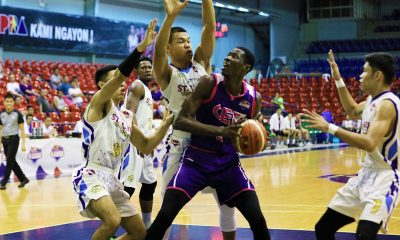 Tiebreaker Times Despite tall odds, Malick Diouf's confidence never wavered Basketball News PBA D-League  Maodo Malick Diouf CEU Scorpions 2019 PBA D-League Season