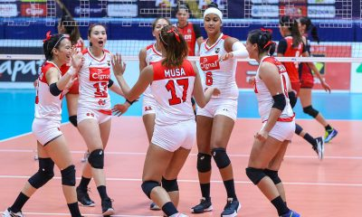Tiebreaker Times Cignal makes quick work of PLDT for second straight win News PSL Volleyball  Roger Gorayeb Rachel Daquis PLDT Home Fibr Power Hitters Mylene Paat Jheck Dionela Grethcel Soltones Edgar Barroga Cignal HD Spikers Alohi Robins-Hardy Aiko Urdas 2019 PSL Season 2019 PSL All Filipino Conference