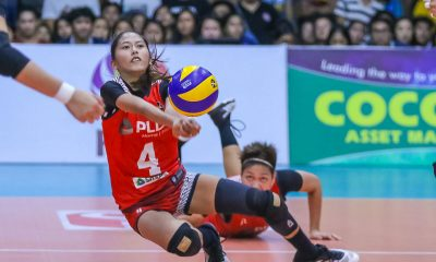 Tiebreaker Times Jorelle Singh delivers as PLDT crawls back from two sets down to stun Sta. Lucia News PSL Volleyball  Sta. Lucia Lady Realtors Roger Gorayeb Rachel Austero PLDT Home Fibr Power Hitters Pam Lastimosa Jorelle Singh Jasmine Nabor Grethcel Soltones Babes Castillo Alyssa Eroa 2019 PSL Season 2019 PSL All Filipino Conference