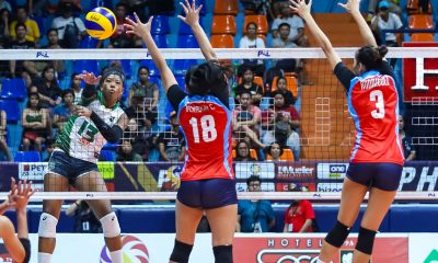 Tiebreaker Times MJ Phillips gets perfect birthday gift as Sta. Lucia sinks debuting Marinerang Pilipina News PSL Volleyball  Villet Ponce-de Leon Sta. Lucia Lady Realtors Rebecca Rivera MJ Phillips Marinerang Pilipina Judith Abil Cesca Racraquin Babes Castillo Amanda Villanueva 2019 PSL Season 2019 PSL All Filipino Conference