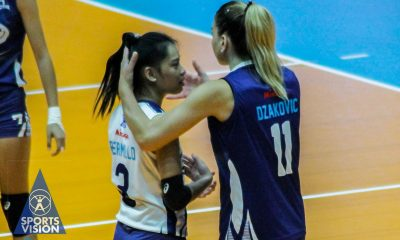 Tiebreaker Times Jewelle Bermillo accepts Dzakovic's apology after hard in-game slap News PVL Volleyball  Rommel Abella Jewelle Bermillo Dani Dzakovic Bali Pure Purest Water Defenders 2019 PVL Season 2019 PVL Reinforced Conference