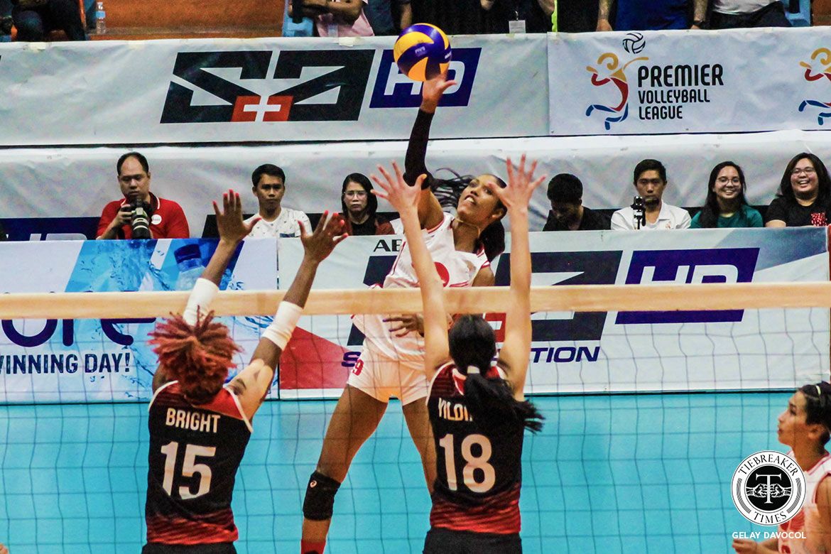 Tiebreaker Times After scoring 37 points, Wilma Salas remains unsatisfied: 'I'll go for more' News PVL Volleyball  Wilma Salas Petro Gazz Angels 2019 PVL Season 2019 PVL Reinforced Conference