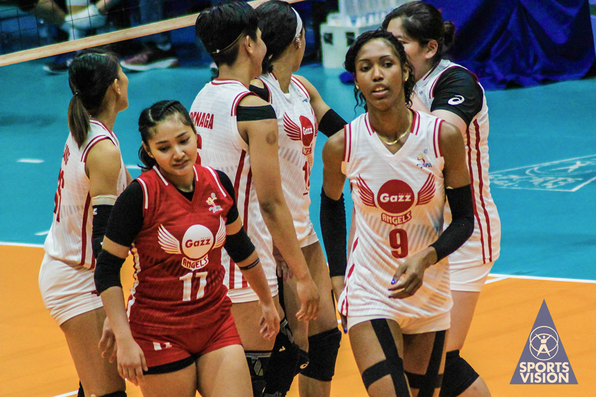 Tiebreaker Times Petro Gazz vents ire on PacificTown-Army in Laguna News PVL Volleyball  Wilma Salas Rica Enclona Petro Gazz Angels Pacific Town-Army Lady Troopers Olena Lymareva-Flink Kungfu Reyes Janisa Johnson Djanel Cheng Arnold Laniog 2019 PVL Season 2019 PVL Reinforced Conference