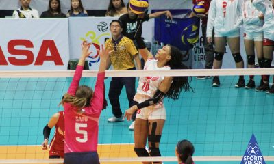 Tiebreaker Times Janisa Johnson hopes first loss serves as wake-up call for Petro Gazz News PVL Volleyball  Petro Gazz Angels Janisa Johnson Arnold Laniog 2019 PVL Season 2019 PVL Reinforced Conference