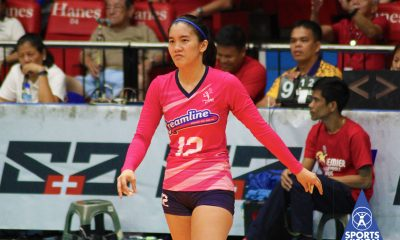 Tiebreaker Times Jia Morado finds true calling in organizing volleyball clinics News PVL Volleyball  Jia Morado Creamline Cool Smashers Coronavirus Pandemic 2020 PVL Season