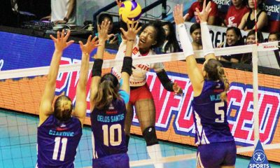 Tiebreaker Times Motolite boots out Bali Pure in come-from-behind fashion News PVL Volleyball  Thang Ponce Rommel Abella motolite power builders Krystle Esdelle Krystle Edelle Grazielle Bombita Danijela Djakovic Channon Thompson Bali Pure Purest Water Defenders Ayel Estranero Alexandra Vajdova Air Padda 2019 PVL Season 2019 PVL Reinforced Conference