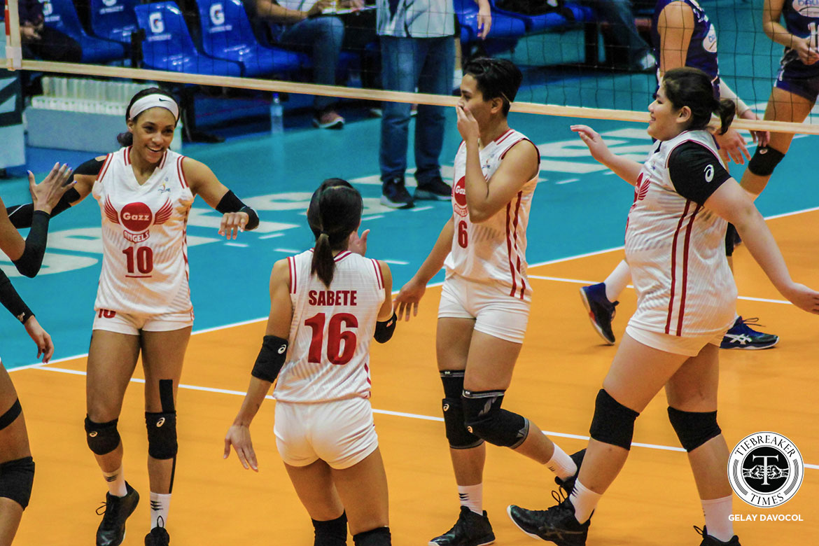 Tiebreaker Times Jeanette Panaga insists that locals can push Petro Gazz further News PVL Volleyball  Petro Gazz Angels Jeanette Panaga 2019 PVL Season 2019 PVL Reinforced Conference