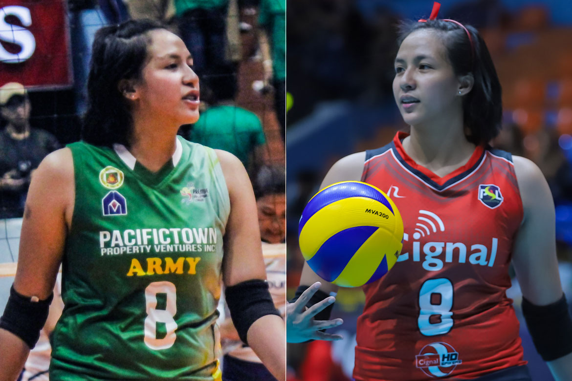 2019-pvl-x-psl-army-x-cignal-jovelyn-gonzaga Army's Gonzaga not closing doors on reunion with Cignal's Daquis News PVL Volleyball  - philippine sports news