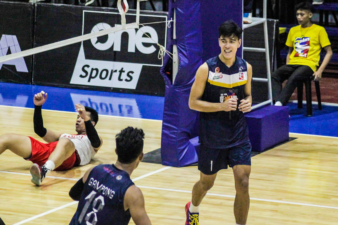 Tiebreaker Times Bryan Bagunas needed to regain his form in Air Force return News Spikers' Turf Volleyball  Philippine Air Force Jet Spikers Bryan Bagunas 2019 Spikers Turf Season 2019 Spikers Turf Reinforced Conference