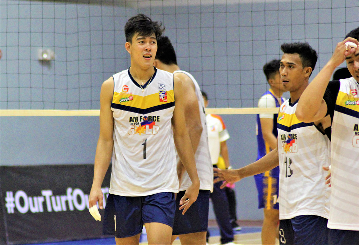 Tiebreaker Times Go for Gold-Air Force signs Bryan Bagunas to two-year extension News Spikers' Turf Volleyball  Bryan Bagunas Air Force Jet Spikers 2020 Spikers Turf Season