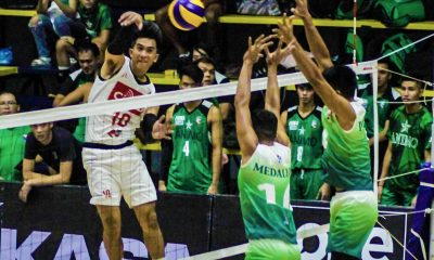 Tiebreaker Times Wendel Miguel shines for streaking Cignal, Ranran Abdilla lifts Air Force back CSB DLSU News Spikers' Turf Volleyball  Wendel Miguel VNS Volleyball Club Griffins VNS Volleyball Club Tony Koyfman Rhovyl Verayo Red Christensen RanRan Abdilla Philippine Air Force Jet Spikers Kim Malabunga Joven Camaganakan Jeffrey Malabanan IEM Volley Masters Easytrip-Raimol Dexter Clamor Cris Dumago Cignal HD Spikers Animo Green Spikers Aaron Velez 2019 Spikers Turf Season 2019 Spikers Turf Reinforced Conference