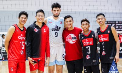 Tiebreaker Times Tony Koyfman on facing Sumanguid, former Ateneo teammates: 'Sobrang hirap talaga' News Spikers' Turf Volleyball  VNS Volleyball Club Griffins Tony Koyfman Manuel Sumanguid Ish Polvorosa Cignal HD Spikers 2019 Spikers Turf Season 2019 Spikers Turf Reinforced Conference