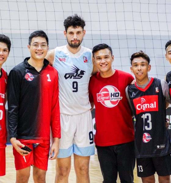 Tiebreaker Times Tony Koyfman signs with Israeli club team News Spikers' Turf Volleyball  Tony Koyfman 2019 CEV Challenge Cup