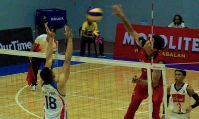 Tiebreaker Times Cignal books Spikers' Turf semis spot as Rebisco-PH gains momentum heading to Thailand Open CSB DLSU News Spikers' Turf Volleyball  Ysay Marasigan VNS Volleyball Club Griffins Roniey Adviento Rebisco-Philippines PLDT Home Fibr Power Hitters Philippine Navy Sea Lions Philip Bagalay Pao Pablico Mark Alfafara Marck Espejo John delos Reyes jeremy marat Greg Dolor Dexter Clamor Cignal HD Spikers Animo Green Spikers 2019 Spikers Turf Season 2019 Spikers Turf Reinforced Conference