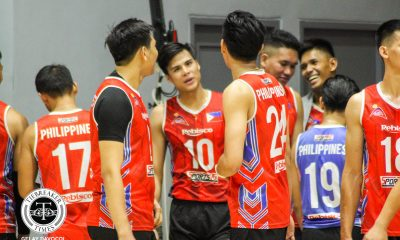 Tiebreaker Times Rebisco Philippines starting to build chemistry on and off the court, says De Guzman News Spikers' Turf Volleyball  Rebisco-Philippines Johnvic De Guzman 2019 Spikers Turf Season 2019 Spikers Turf Reinforced Conference